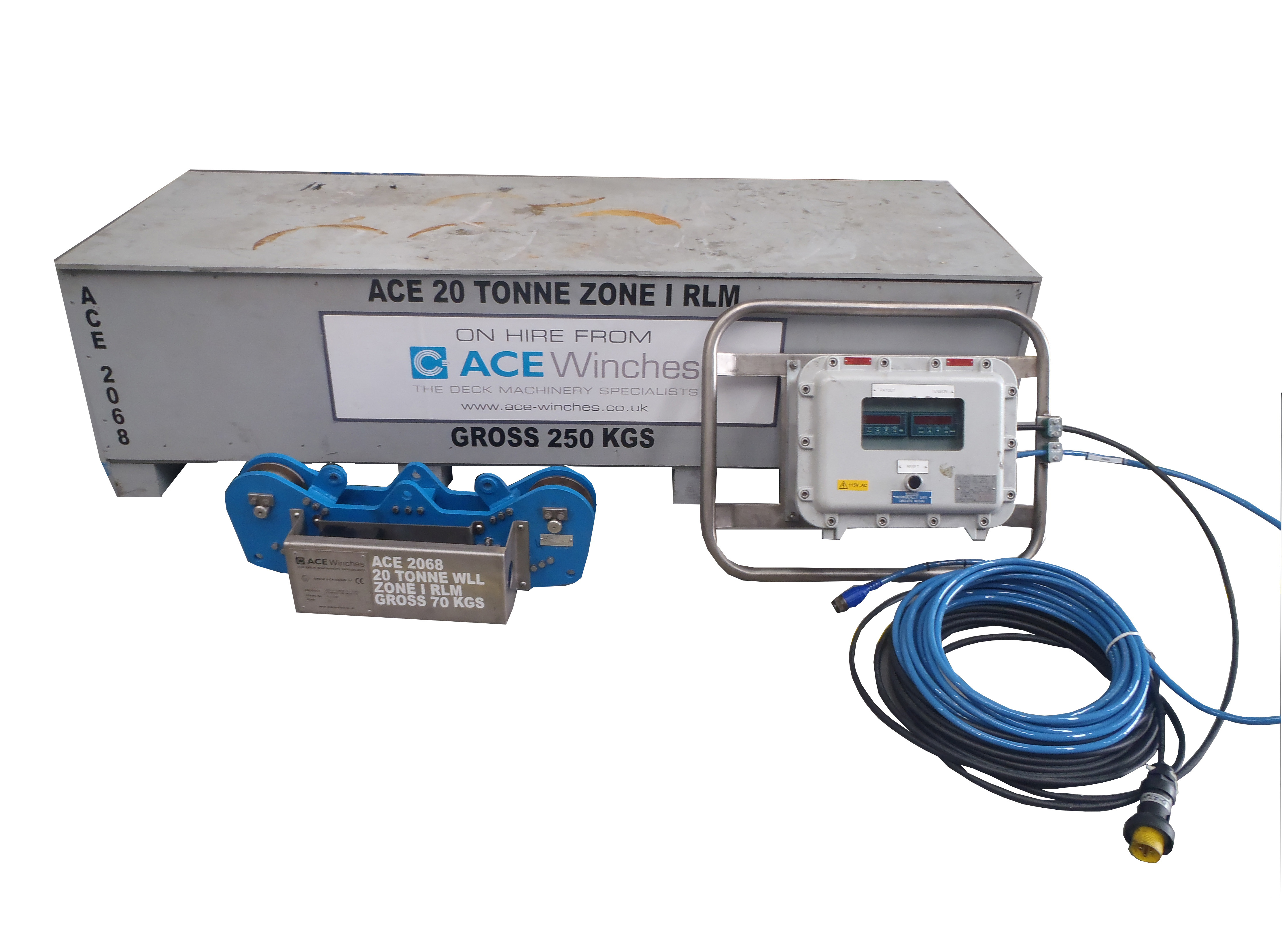 ACE 20 Tonne SWL Zone 1 Running Line Monitor